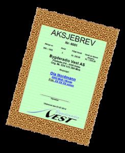 aksjebrev